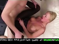 Mother and son! Unbelievable going knuckle deep and anal fuck !