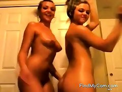 Dance! Two teenagers dance fantastic for us on webcam.