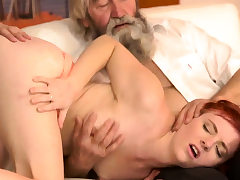 Old man dp first time Sudden experience with an aged