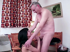 18yr old German Teen Entice to Fuck by 71yr old Grand Father