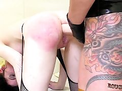 Girl extreme domination and school teacher penalizes
