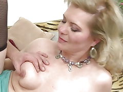Blond mature mothers fuck youthful studs