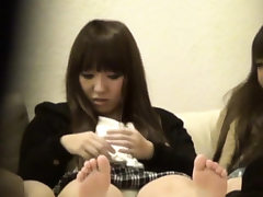Japanese teens stagged on