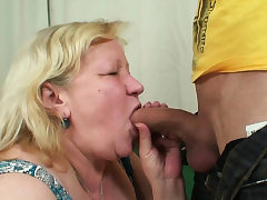 Wifey finds him fucking her old lush mother!