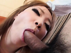 Sexy nubile gets her hairy honeypot screwed